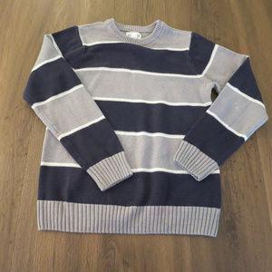 Children'sPlace M 7/8 Boys Sweater Striped